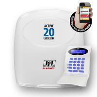 Central de Alarme Monitorável JFL Active-20 Ethernet