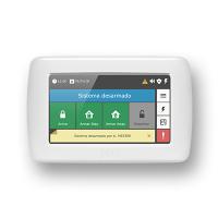 "Teclado LCD 4,3"" com tecnologia touchscreen para centrais monitoráveis JFL"