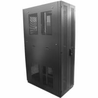Rack Piso Porta Bipartida Perfurada Black