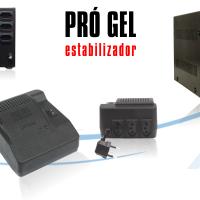 PRÓ GEL ESTABILIZADOR - UPSI 300 VA 120/120 E BIV/115 3 - TOMADAS